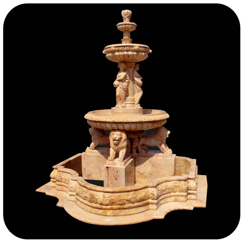 large garden ornament stone angel water fountain outdoor buy angel