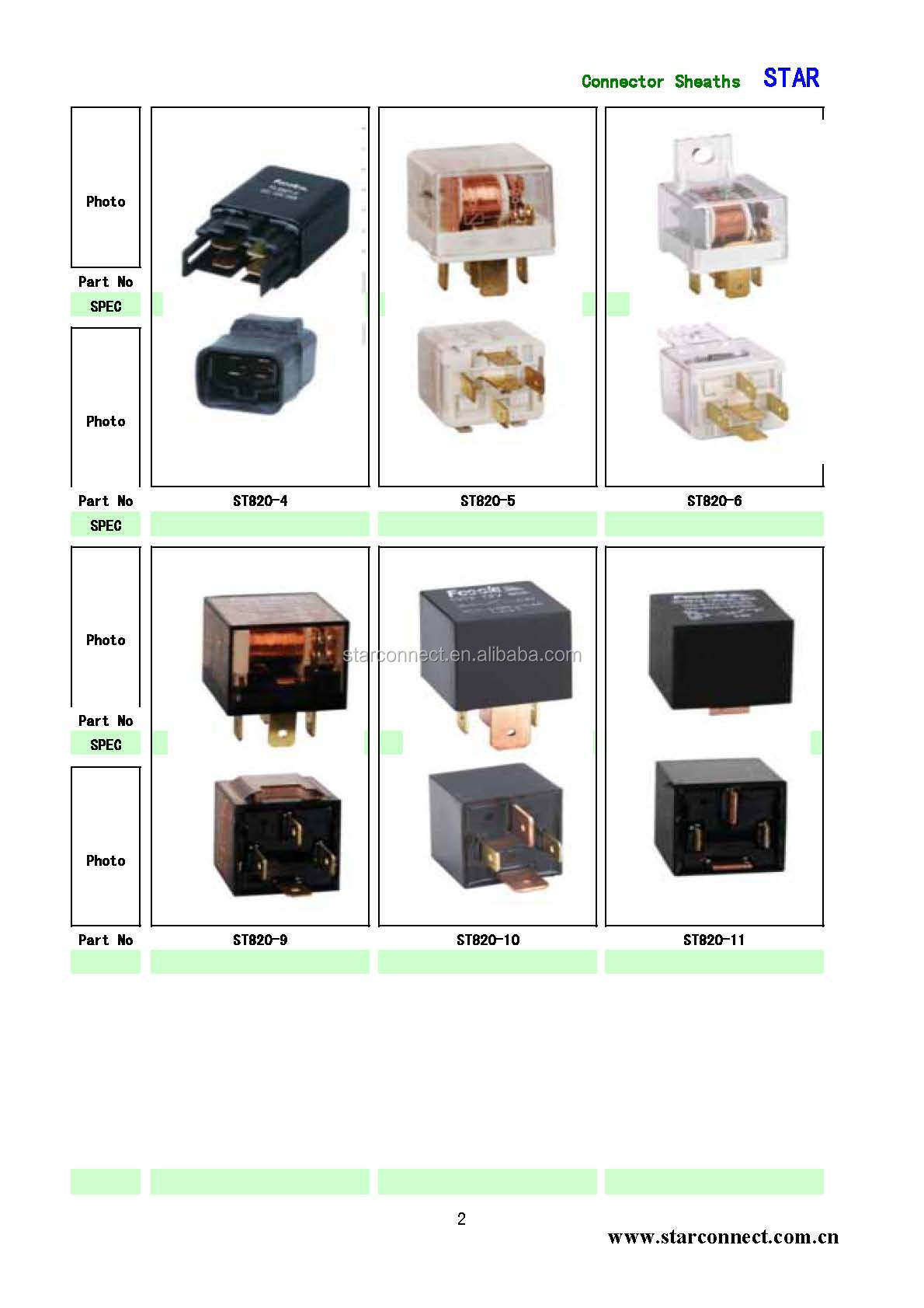 High Quality Double Pin Wire Finder Relay For Car Buy