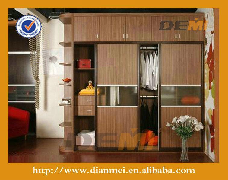 modular armario dormitorio para requisitos particulares con deslizamiento de la puerta lp14