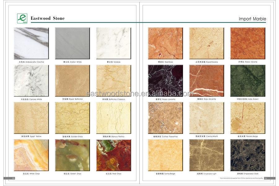 Colores de marmol awesome colores de marmol with colores for Tipos de marmol blanco
