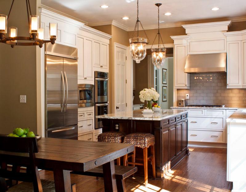 Antico sollevare porta in stile americano cucina design del ...