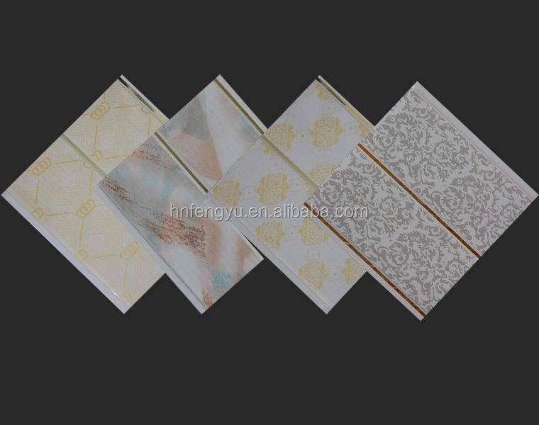 Handige Indeling Badkamer ~ Waterdichte badkamer plastic wand gevelbeplating paneel binnenwand