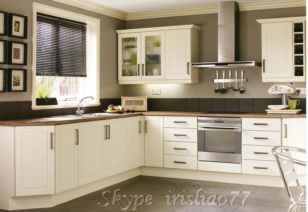 Branco arm rio de cozinha m veis de madeira maci a - Cocinas completas el corte ingles ...