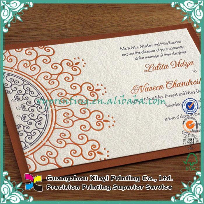 Manufacturer Custom Printing Hot Sale Wedding Invitation Cards ...