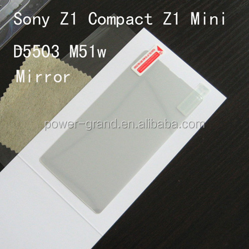 Mirror screen protector for Sony Z1 Compact Z1 Mini D5503 M51w- (2).jpg