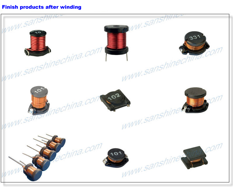 (SS100B) Drum core inductor winding machine