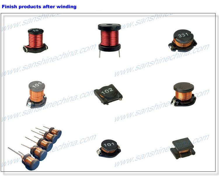 (SS-100B) Drum core inductor winding machine