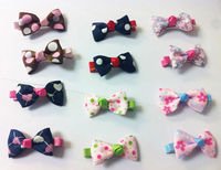 new 2014 hairpin Korean models Bow Barrettes Baby accessories children Girls jewelry lovely hair clips bowknot hair clip