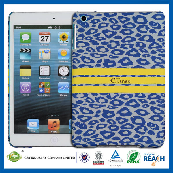 New arrival design&factory price smart cover for ipad mini pc hard case