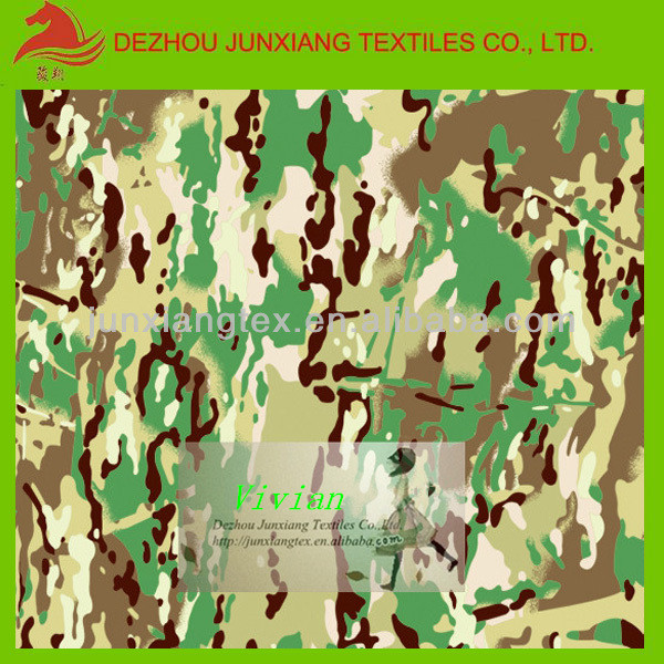 solid dyed quilted fabric Camouflage fabric