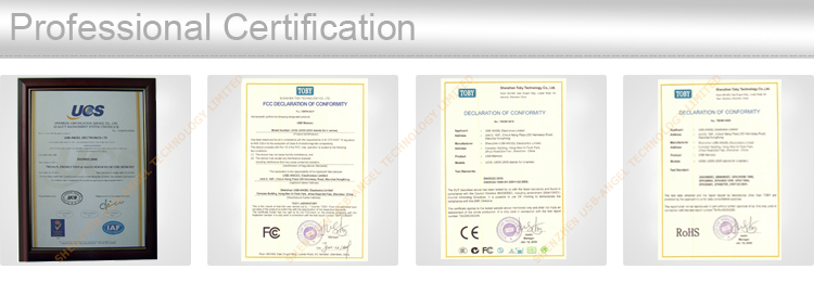 we get certification