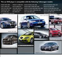 Автомобильный DVD плеер HSP 7/dvd Gps Volkswagen VW Vento JETTA TIGUAN TOURAN Gps +