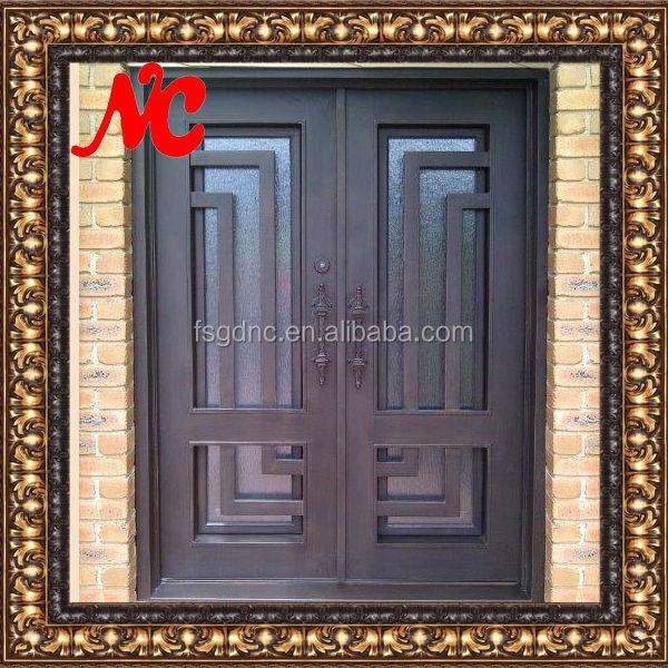 Beautiful Design Iron Main Entrance Doors Grill Design
