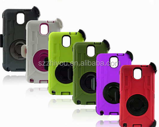 Cheap Hybrid Protective tpu+pc case for samsung note 3