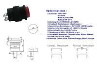 Кнопочный переключатель R16/503ad 16