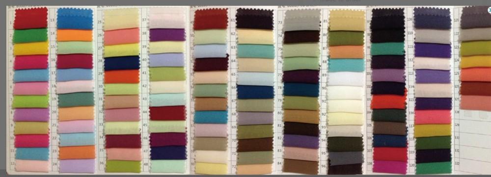 new Chiffon Color
