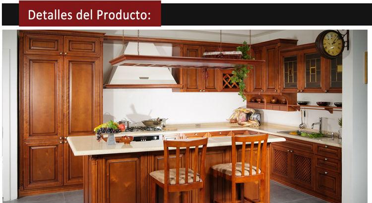 2014 Estilo Estadounidense Arce Muebles de Cocina Concepcion-Cocinas ...