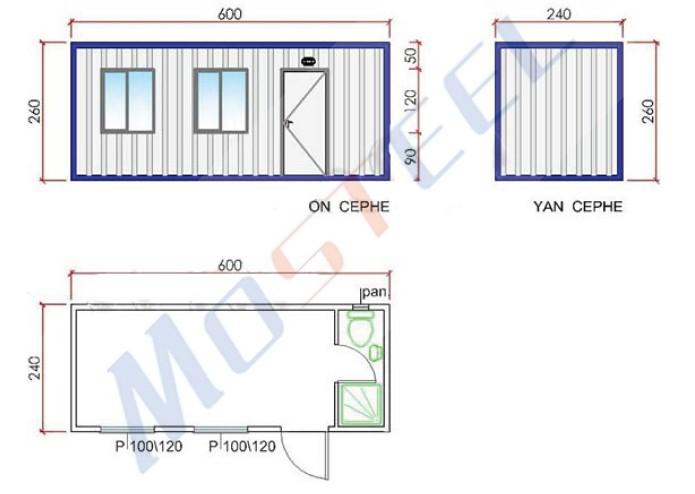 Conomique durable pliable conteneur d montable for Conteneur economique