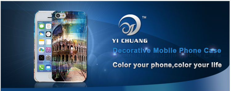 PC mobile phone case+customized logo printing