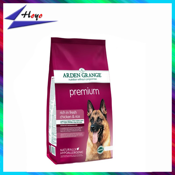 Color Printing Bottom Gusset Customized Ziplock Pet Food Plastic Bag Manufacture