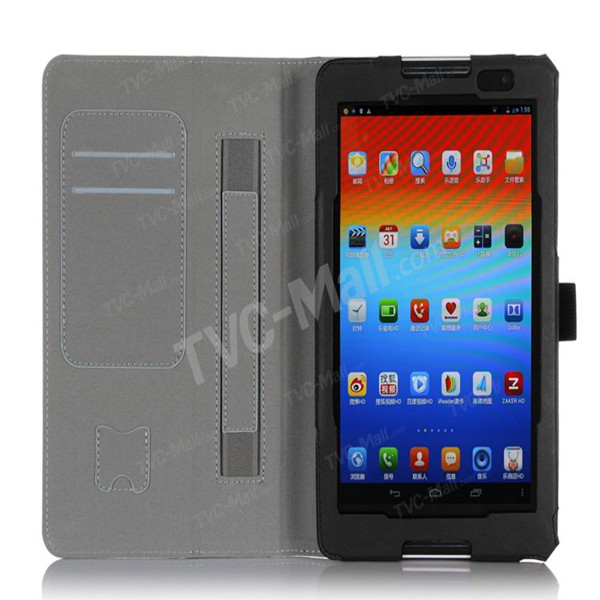 New Design Leather Stand Case for Lenovo IdeaTab A8-50 A5500