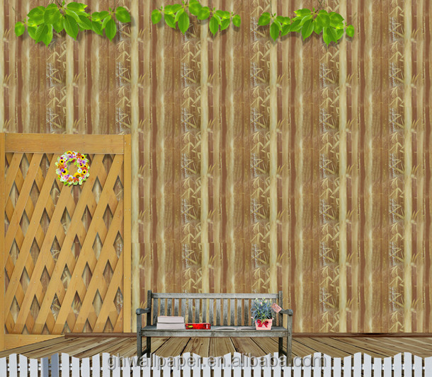 Tree Wallpaper Bamboo Design 3d Wallpaper For Home