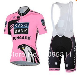 Женский костюм для велоспорта CHIVALRY OEM SAXO /+ saxo bank