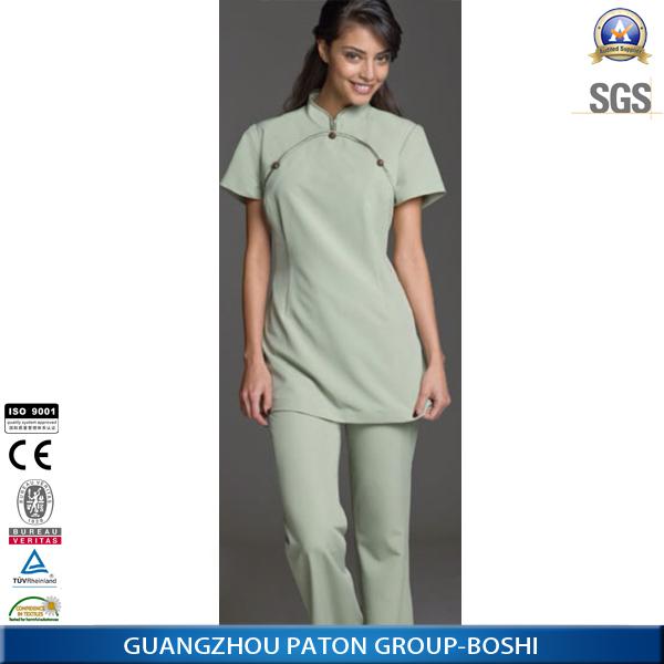 New design female spa uniform in 2014 view spa uniform for Spa uniform alibaba
