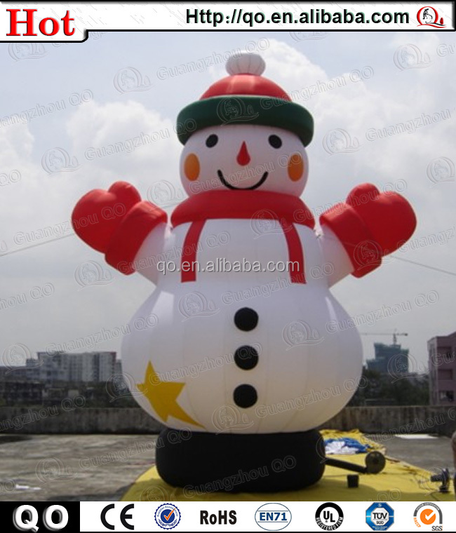 Popular outdoor beautiful inflatable abominable snowman for Abominable snowman christmas light decoration