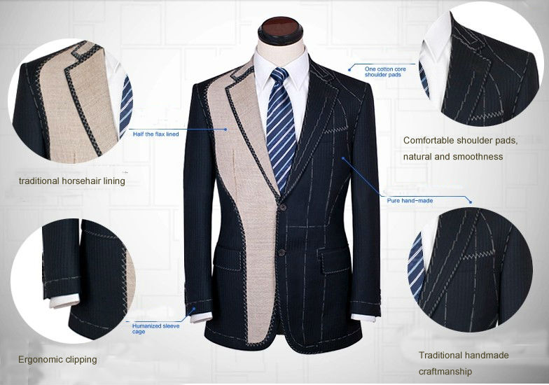 2015 New Style white with black shawl lapel custom tailor made indian wedding suits for men