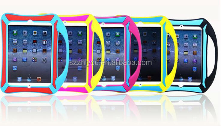 2014 New arrival Made-in-China cute silicone case for ipad mini