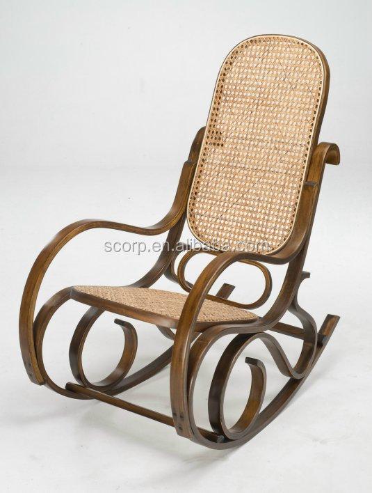 Taiwan salon en bois courb chaise ber ante tiss canne si ge et retour chais - Dessus de chaise en bois ...