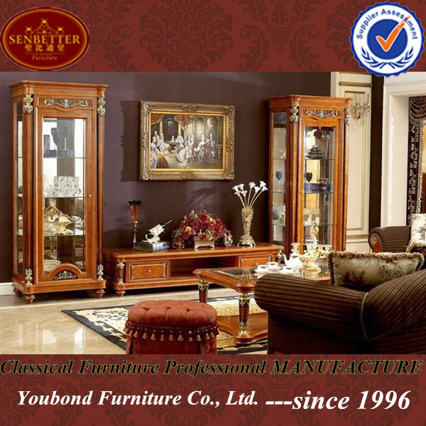 0029 High Quality Luxury Wooden Living Room Furniture German TV Cabinet View