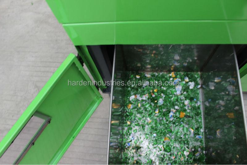 glass crushing machine