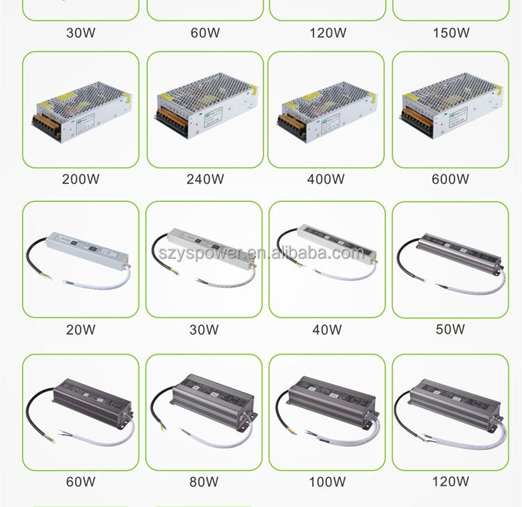 CE,ROHS approved led switch power supply 12v professional led driver 400w led power supply