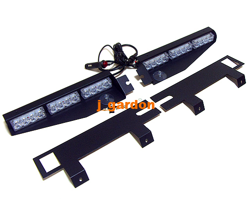 Free shipping exclusive split visor deck dash 1 watt 2x 1224 led free shipping exclusive split visor deck dash 1 watt 2x 1224 led led light lightbar red aloadofball Image collections