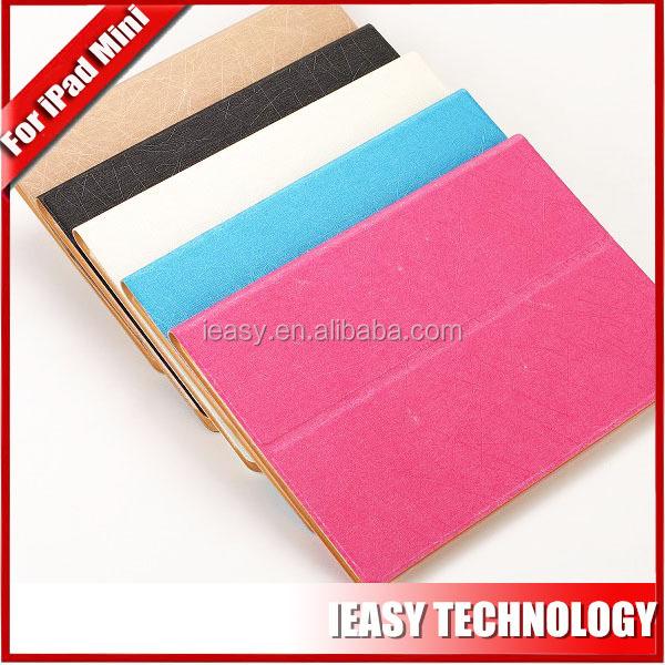PU leather case for iPad Mini leather case for ipad cover