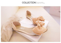Женская обувь на плоской подошве  Charm Toe Closed Shoes