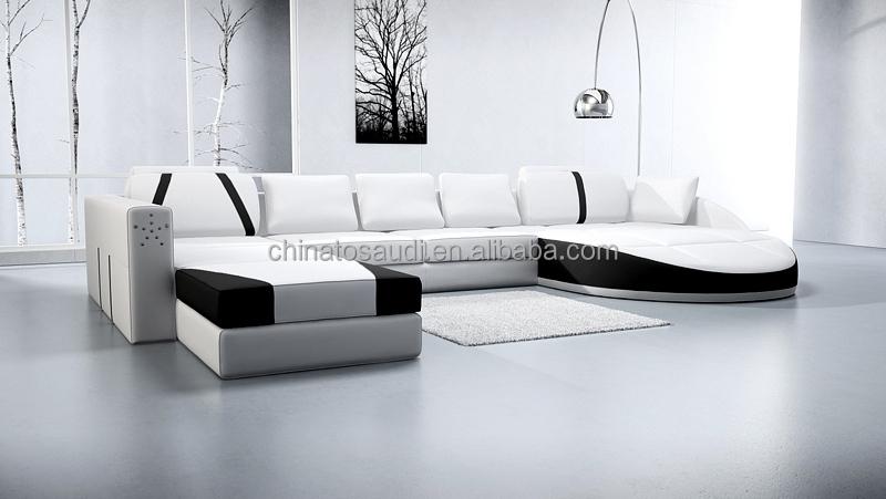 2017 moderno mobiliario doméstico sofá de la sala set sofás para ...