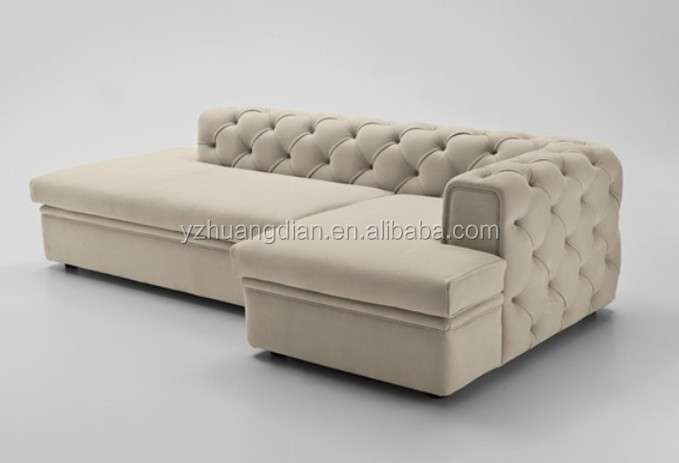 Low Back Small Fabric Corner Sofa With Good Price Ys183   Buy Low ...