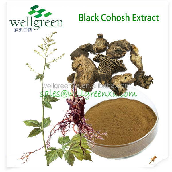 black cohosh extract/triterpene glycosides/black cohosh root extract