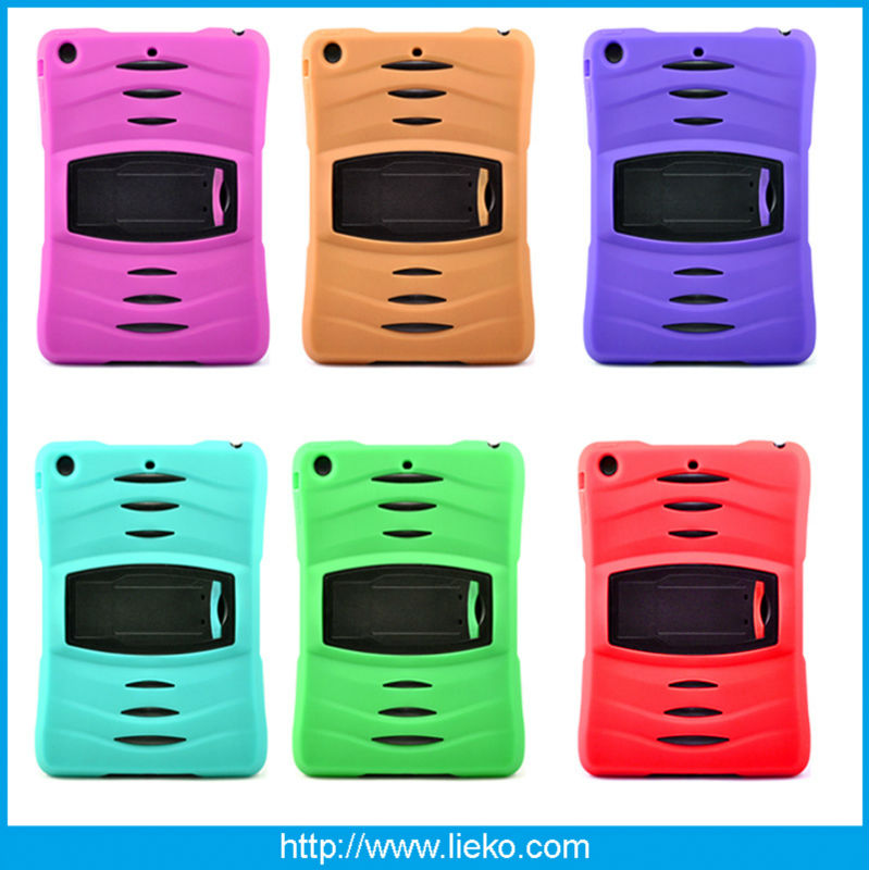 Best selling silicone combo case for ipad Air