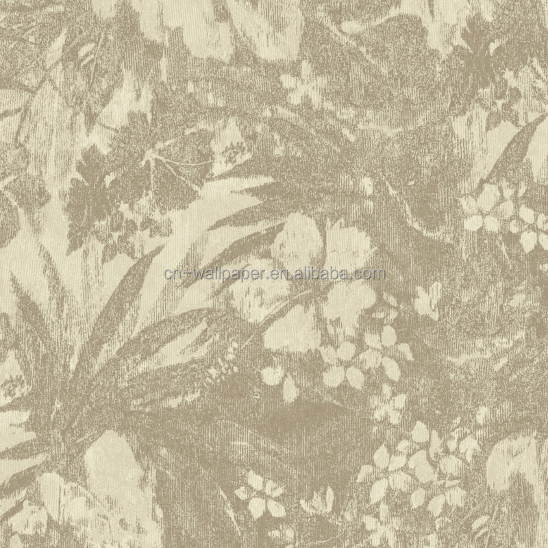 2014 bamboo design embossed wallpaper for kindergarten