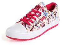 женщины кроссовки небольшой низкий Холст обувь плоские туфли туфли Скейтбординг дышащий платформы