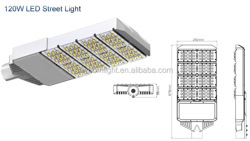 Outdoor Light 50W-300W Street Led Lamp With Meanwell Driver 5 Year Warranty