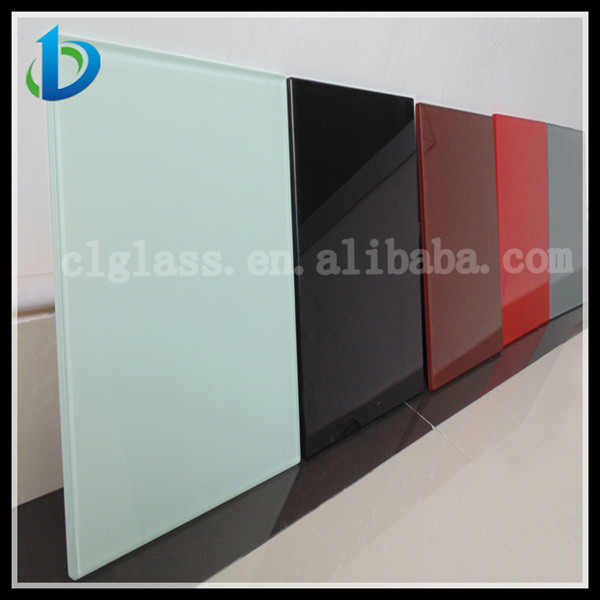Back painted glass panels painted glass factory in china for Back painted glass panels