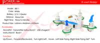 Новейшая игрушка xc8811 маленький 2.4g 4 канала 6-осевой гироскоп мини нано quad с небольшой передатчик rtf