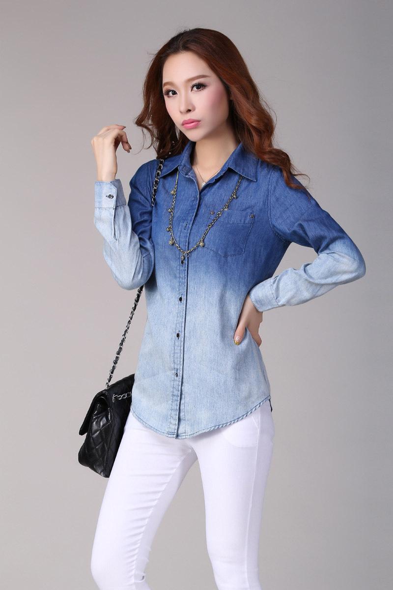 Kemeja Jeans Wanita | Women Online Magazine