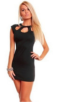 Женское платье EAST KNITTING N-224 New Sexy Bodycon Clubwear Dress Women fashion Slim Hip Party Bandage dresses