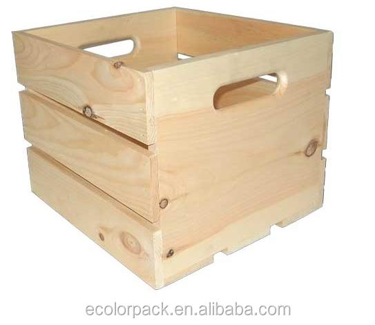 Cajas de madera para embalaje precios transportes de - Caja de madera fruta ...
